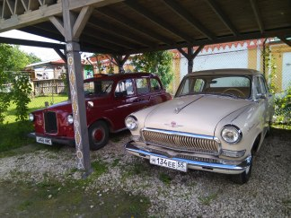 Just some old cars we passed.