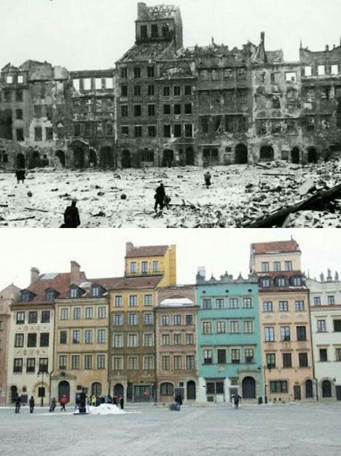 Before After Warsaw